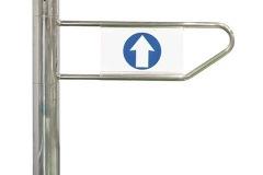 Bulwark-HB-Autmatic-Supermarket-Gate-D-type-Arm