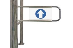 Bulwark-HB-Automatic-Supermarket-Gate-Utype-Arm-Rail
