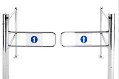 Sentinel-ECO-Automatic-Supermarket-Dual-Gate-Safety-Rails